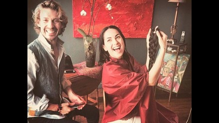 Bárbara Mori donó su cabello para personas con cáncer