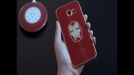Lanzan la versión Iron Man del Galaxy S6 Edge