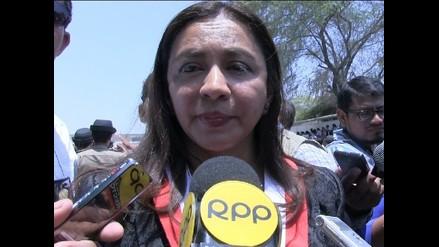 Piura: vicepresidenta responde a cuestionamientos por fuga de Belaunde