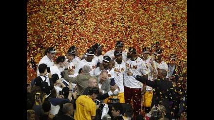 NBA: LeBron James vuelve a las finales al liderar a los Cleveland Cavaliers