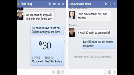 Facebook permitirá envío de dinero por Messenger
