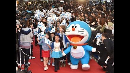 Gato Doraemon ayuda al deshielo de relaciones entre China y Japón