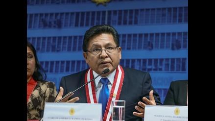 Ramos Heredia: La decisión tomada por el CNM es ilegal; soy perseguido político