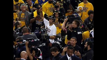 NBA: Golden State Warriors enfrentarán a LeBron James en las Finales