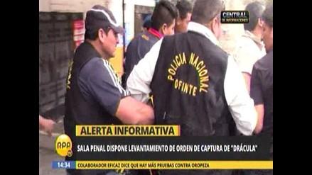 Caso Oropeza: ordenan liberación de 'Drácula'