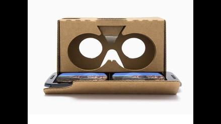 Google presentó nueva versión de sus gafas Google Cardboard