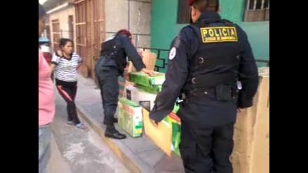 Huancayo: intervienen a sujeto que trasladaba electrodomésticos ilegales