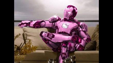 Hello Kitty: Los Vengadores y otros superhéroes con trajes rosados