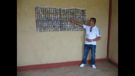 Chiclayo: Conozca la vivienda hecha a base de botellas de reciclaje