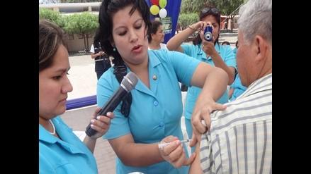 Chiclayo: el 25 % de la población ha sido vacunada contra la influenza