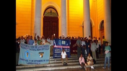 Chiclayo: docentes exigen correcta aplicación de la ley universitaria
