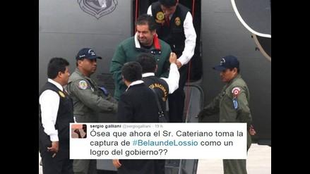 Belaunde Lossio: Farándula opina sobre extradición