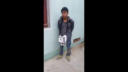 Chimbote: capturan a sujeto por robo a grifo con arma de juguete