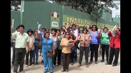 Docentes piden declarar en emergencia a sector Educación en Tumán
