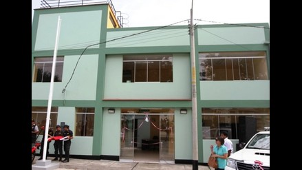 Trujillo: Simbal cuenta con nueva comisaría por un millón 310 mil soles