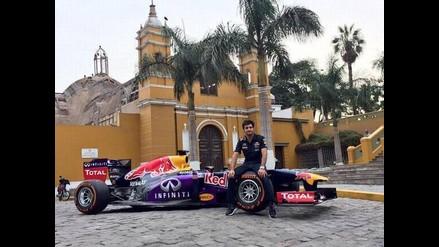 Fórmula 1 en Lima: Carlos Sainz Jr. hará rugir los motores de un Red Bull