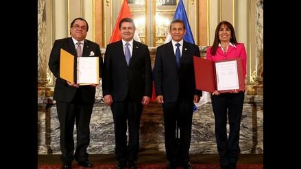 Perú y Honduras suscribieron Tratado de Libre Comercio