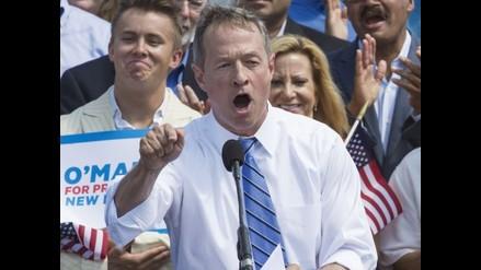 EEUU: Martin O'Malley se suma a la carrera hacia la Casa Blanca