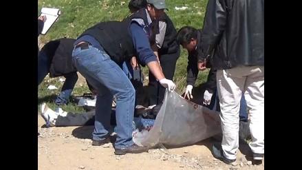 Huancayo: hallan el cuerpo de un hombre degollado y encostalado
