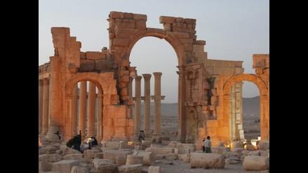 Siria: Yihadistas detonaron prisión simbólica de Palmira