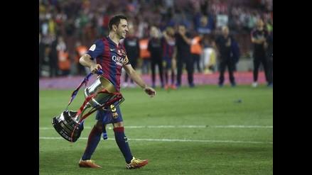 Barcelona: Xavi no se cansa de elogiar a Lionel Messi tras Copa del Rey