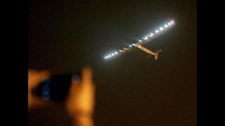Solar Impulse II: avión solar parte de China para cruzar el Pacífico