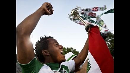 Sporting de Lisboa, con André Carrillo, salió campeón de la Copa Portugal