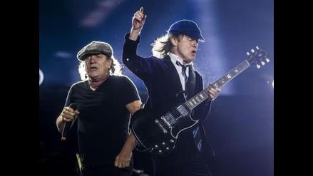 AC/DC remeció Madrid con espectacular concierto
