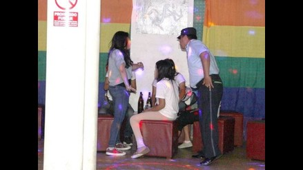 Trujillo: menores de edad bebían licor en bar de avenida 28 de Julio