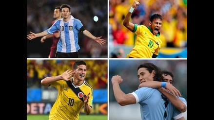 Copa América 2015: Los jugadores más cotizados de las doce selecciones