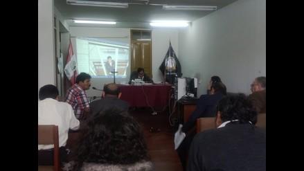 Pepe Julio Gutiérrez participó de audiencia desde penal de Socabaya