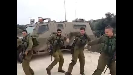 YouTube: sancionan a soldados israelíes por grabarse bailando
