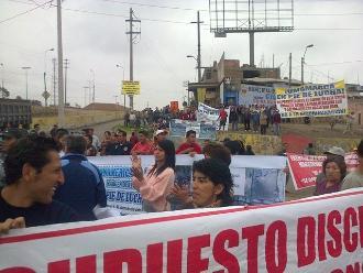 SJM: Vecinos exigen obras de acceso a la Panamericana Sur