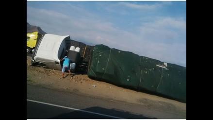 Áncash: un muerto y diez heridos deja vuelco de camión en Chingas