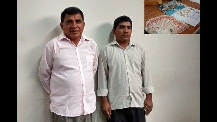 Chiclayo: capturan a padre e hijo por intentar estafar a universitario
