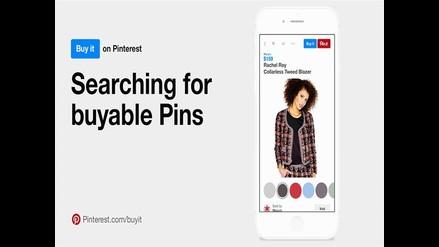 Pinterest: ahora podrás realizar compras sin salir de la red social