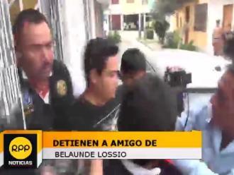 Belaunde Lossio: Policía detuvo a tres implicados por caso Antalsis