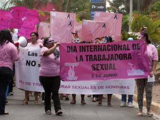 Honduras: trabajadoras sexuales marchan por respeto de sus derechos