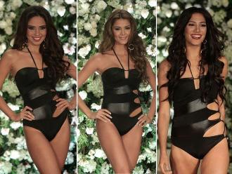 Miss Perú 2015: Finalistas deslumbraron en traje de baño