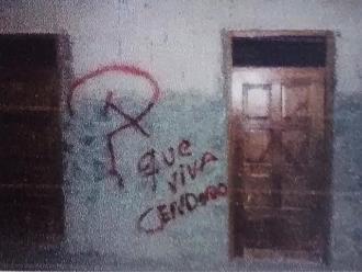 Cusco: denuncian aparición de presuntas pintas subversivas en Ollantaytambo