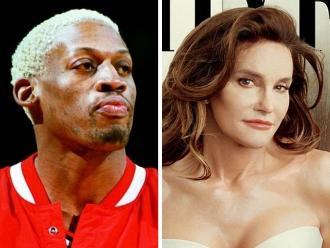 Exbasquetbolista Dennis Rodman anhela una cita con Bruce Jenner