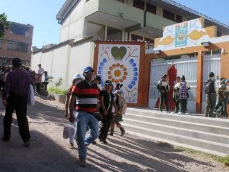 Ayacucho: profesores en huelga obligan a que clases sean suspendidas