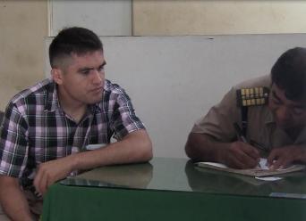 Chiclayo: agente PNP denuncia pérdida de equipaje en empresa