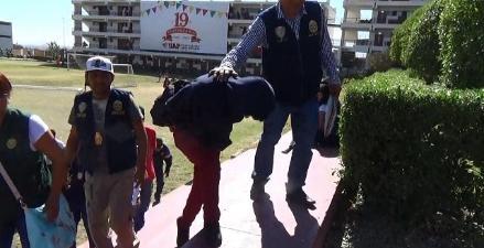 Arequipa: detienen a joven microcomercializador de droga en universidad
