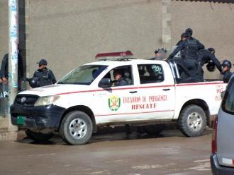 Cercado: Dos policías heridos en asalto a restaurante en Mirones