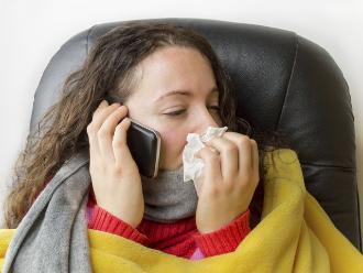 Los jóvenes son los más afectados por la influenza