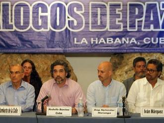 FARC celebran creación de Comisión de la Verdad
