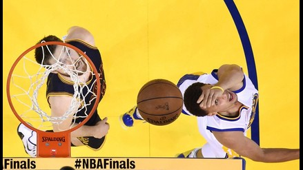 NBA: Golden State pegó primero en la final ante Cleveland