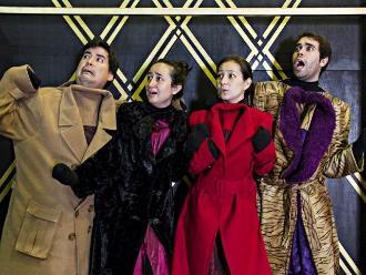 Estrenaron Abrigos en el Teatro de la Alianza Francesa
