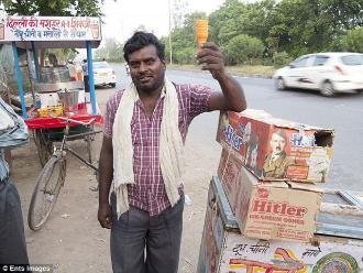 Helados Hitler para el calor en la India desata polémica